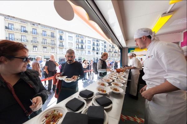 El Street Food de Gastronomika volverá a los porches del Kursaal. Copyright: San Sebastián Gastronomika