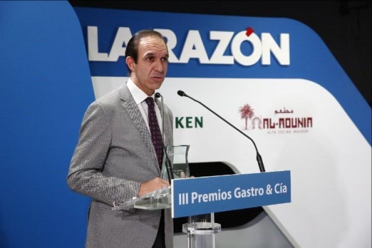 """Rafael Sandoval, premio Gastro&Cía al """"Sumiller del año"""". Copyright: Coque** Madrid"""
