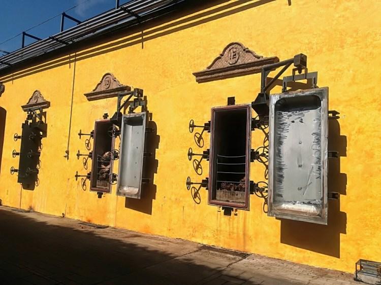Hornos de cocción de piñas de Tequila. Hacienda La Rojeña. Tequila. Copyright: Natalia Martínez para www.devinosconalicia.com