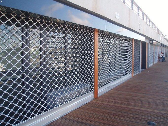 porte rideau metallique magasin paris