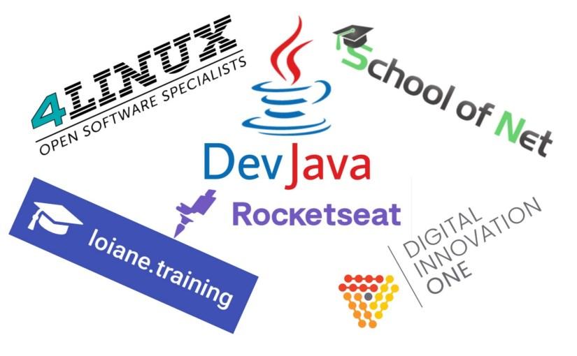 Sites para o(a) desenvolvedor(a) Java estudar de graça.