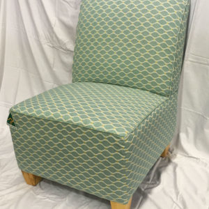 bedroom chair brisbane blue cover hire occasional chairs toowoomba gold coast devlin lounges in green patterned fabric