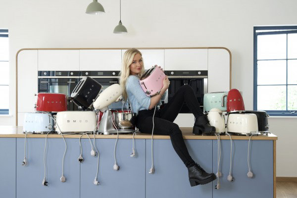 Photoshoot Of Our Air Kitchen With Smegs Lovely New Retro
