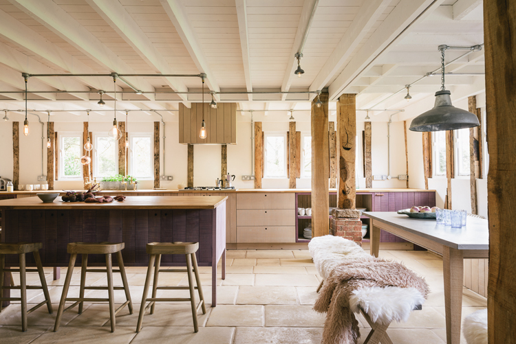 kitchen showroom light maple cabinets the sebastian cox by devol is crowned design of our london manager paul worked closely with customers to this very special family owners had created such an enchanting