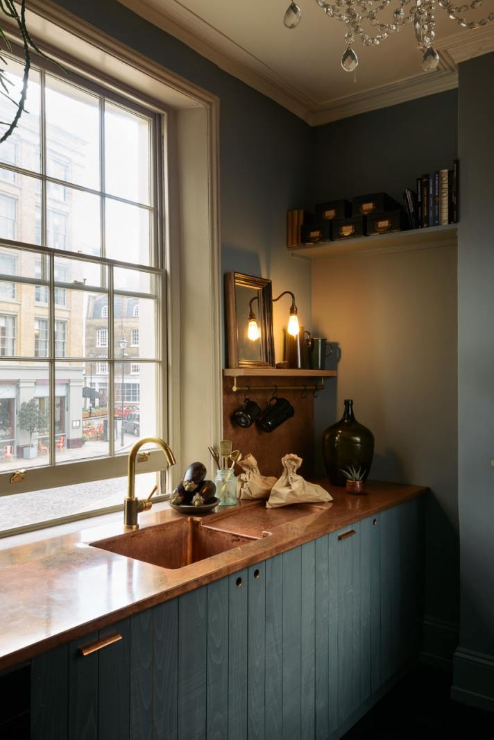 St Johns Square London  deVOL Kitchens