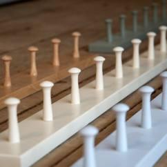 Ceramic Kitchen Sinks White Porcelain Sink Peg Rail   Devol Kitchens