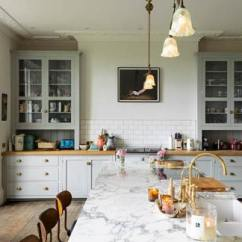 Farmhouse Kitchen Table And Chairs Copper Decor Bespoke Kitchens By Devol - Classic Georgian Style English ...