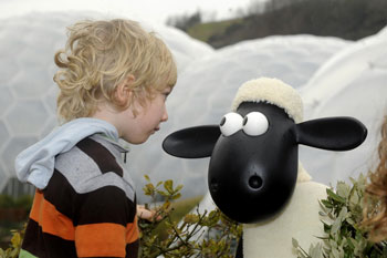 Aardman animators will be at the Eden Project