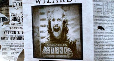 Gary Oldman in Harry Potter and the Prisoner of Azkeban