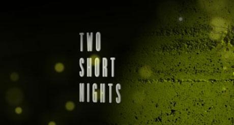 Sting produced by Elliott Stallion for Two Short Nights Film Festival 2009.