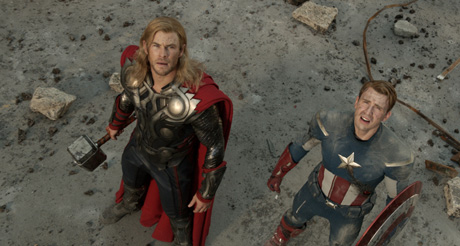 Too punchy, too explodey, and it takes itself too seriously: Avengers Assemble (review)