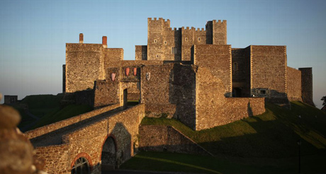 Dover Castle: The Key of England, unlocked with Dan Snow in Battle Castle on Discovery. Courtesy of DCL