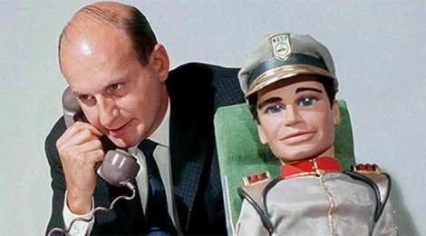 Gerry Anderson (left) and Troy Tempest (right)