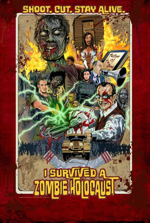 I Survived A Zombie Holocaust poster