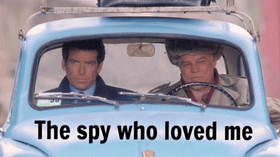 James Bond and Jack Wade