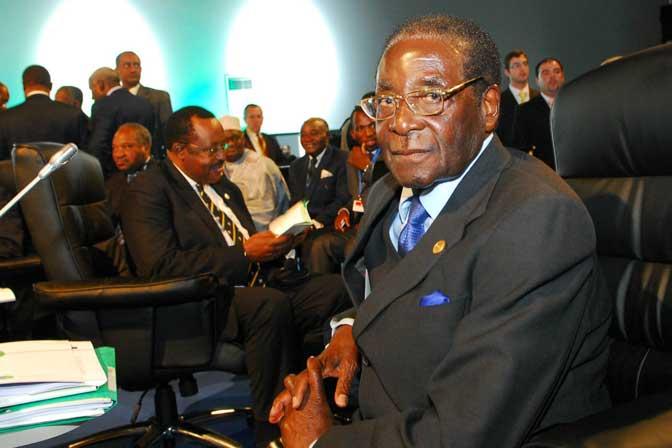 Robert MugabeWhat happened? still courtesy of Simon Bright