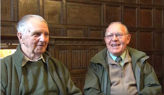 Dick Raymond and Ian Irwin tell their Barnstaple Stories