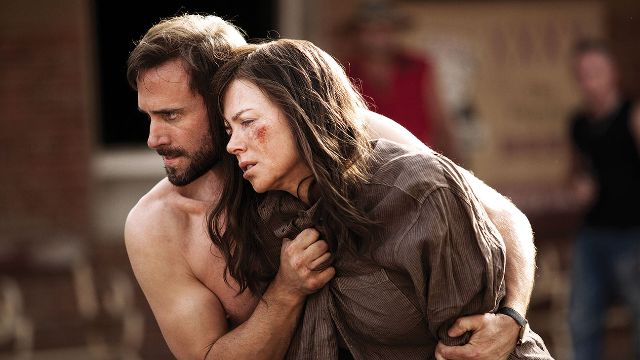 """Parker Pictures Productions presents """"Strangerland"""" a Film by Kim Farrant, Starring Nicole Kidman, Joseph Fiennes. Also Starring Hugo Weaving Producers, MacDara Kelleher, Naomi Wenck Exectuive Producers Christopher Woodros, Molly Conners, Richard Payten, Andrew Mackie"""