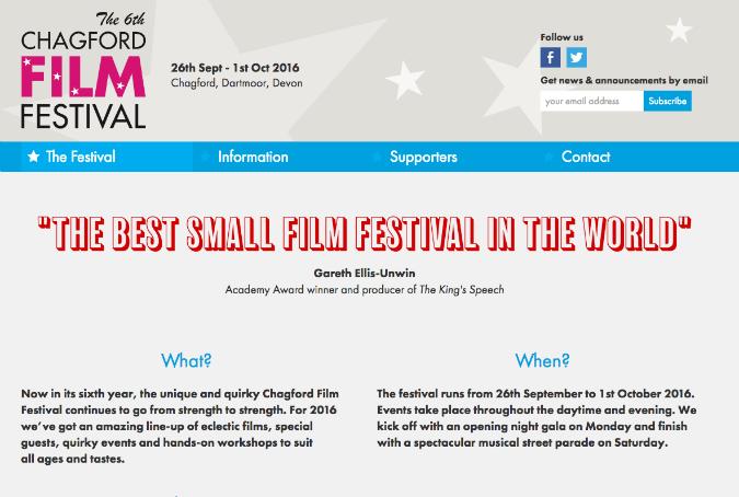 chagford film fest 2016