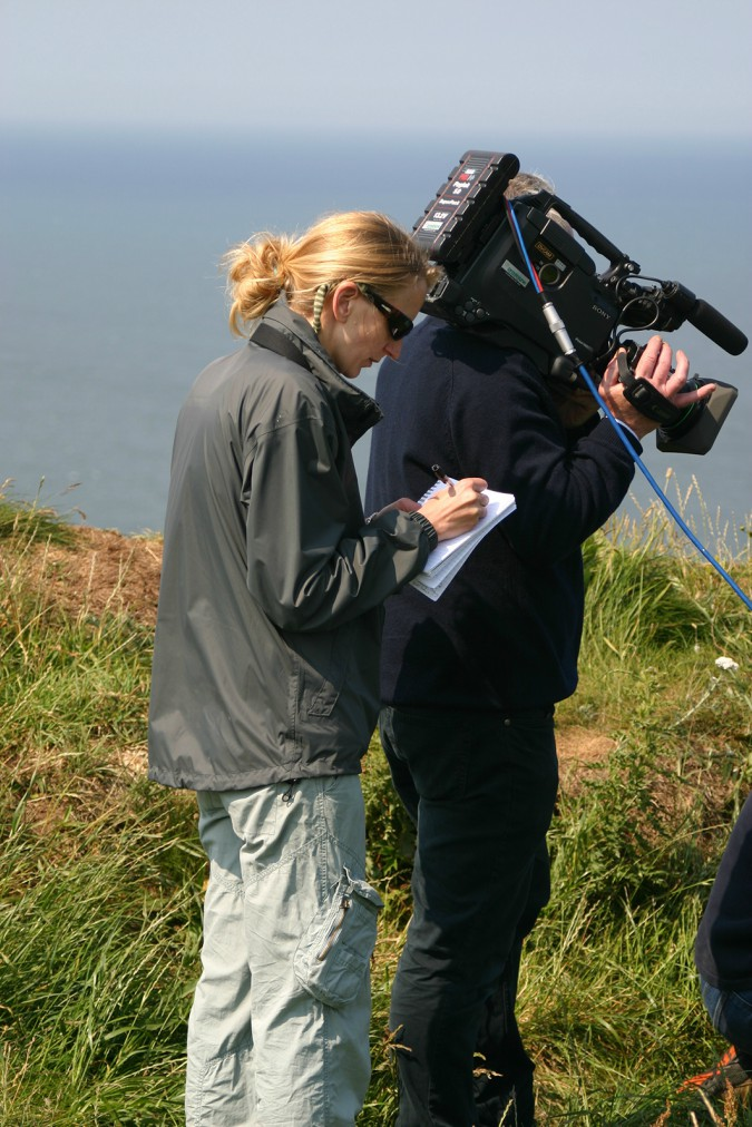 Hannah Mattison directing Coast shoot. Courtesy of Freya Short
