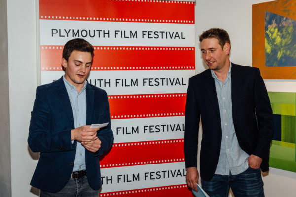 Plymouth Film Festival organisers William Jenkins and Ben Hancock