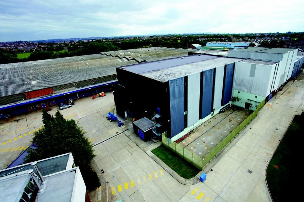 Bottle Yard Studios exterior aerial
