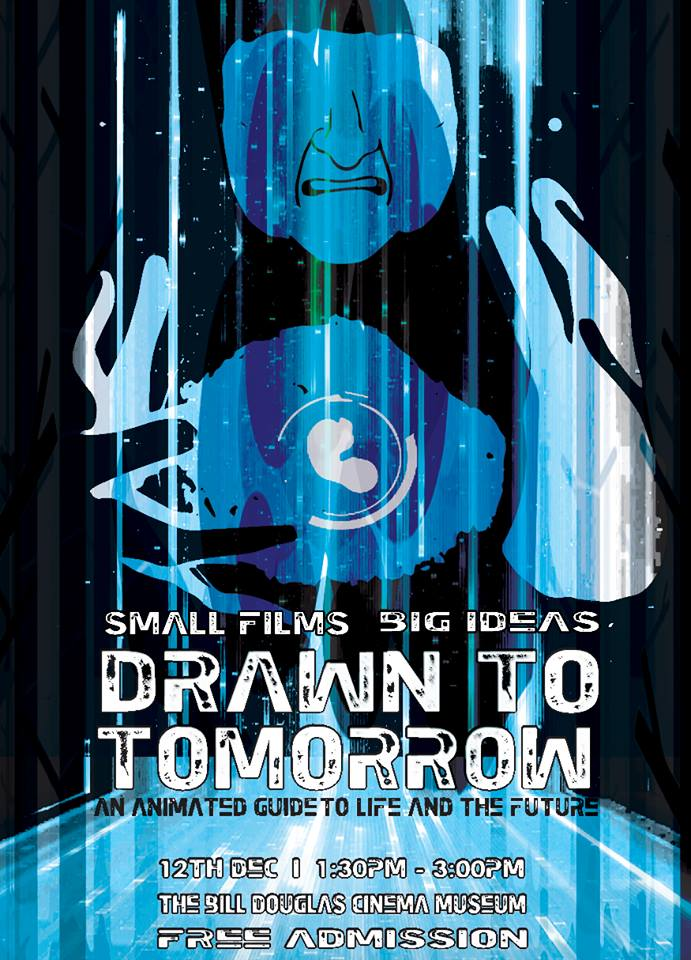 drawn to tomorrow poster