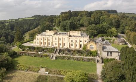 Cornwall's Pentillie Castle