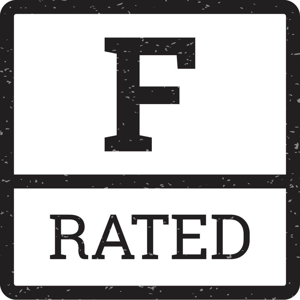 F-Rated film logo