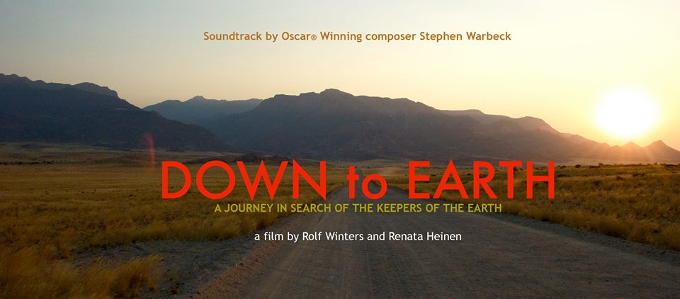 down to earth documentary poster the picture of a sunset over trees