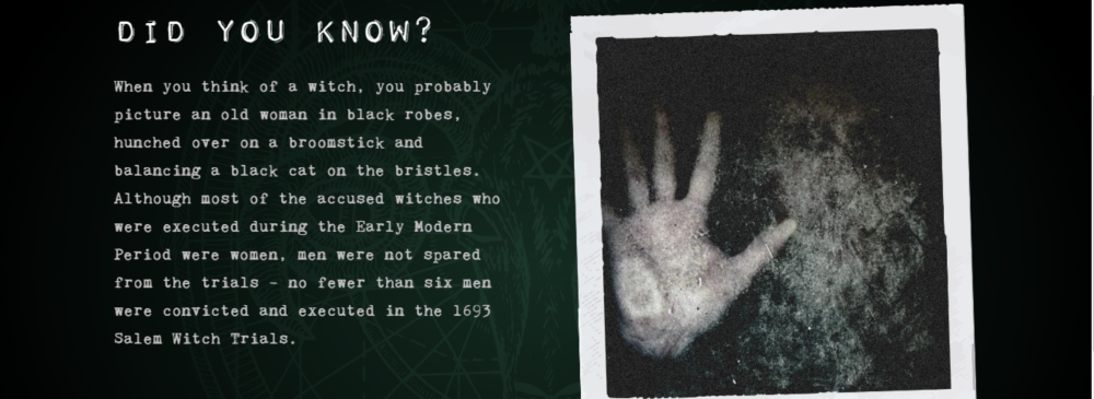 Devon's gruesome history inspires interactive Witch Trial game