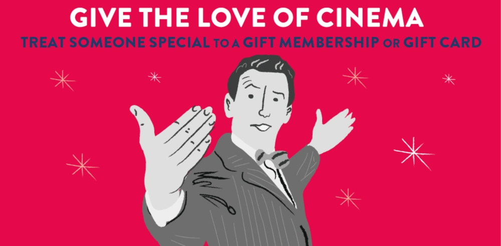 Picturehouse gift image a man with his arms wide apart, like the opening image of George in It's a Wonderful Life