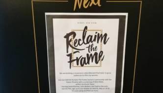 Reclaim The Frame Exeter