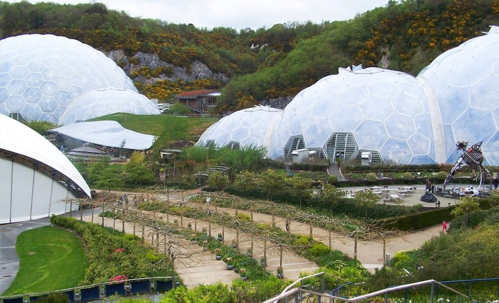 the domes of the Eden Project
