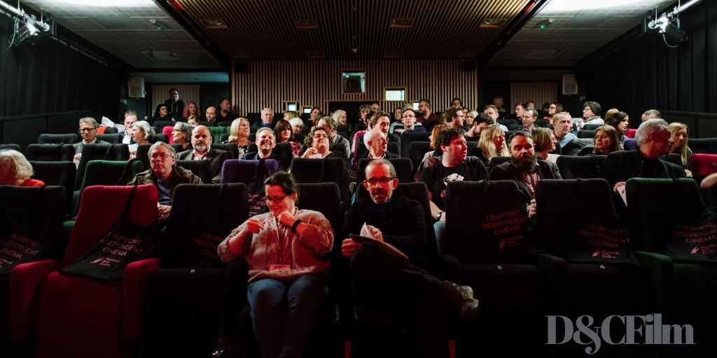 Plymouth arts cinema audience
