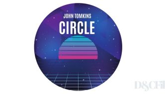a circle with John Tomkins and Circle written on it with a design