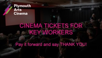 Plymouth Key Workers crowdfunder from Plymouth Arts Cinema