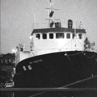 Short stylish doc captures last launch from Penzance dry dock
