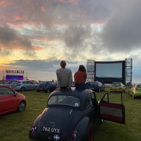 Clifftop drive-in cinema experience returns to Cornwall
