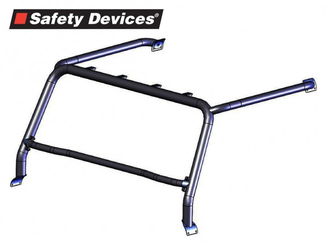 Safety Devices Defender Style Bar / Light Mount 2.5