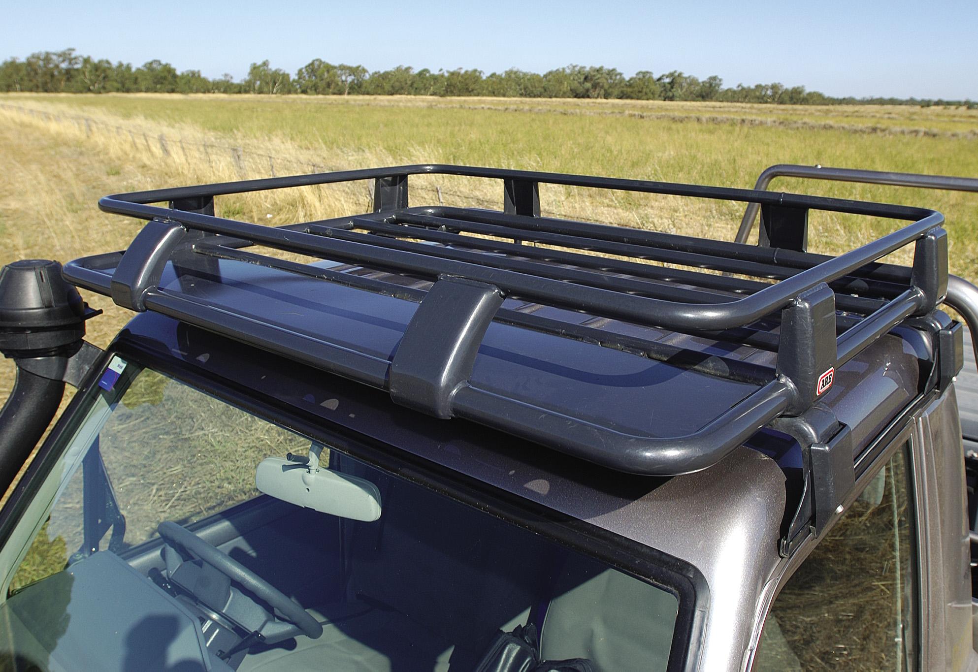 ARB Deluxe Steel Roof Rack 1100x1250mm