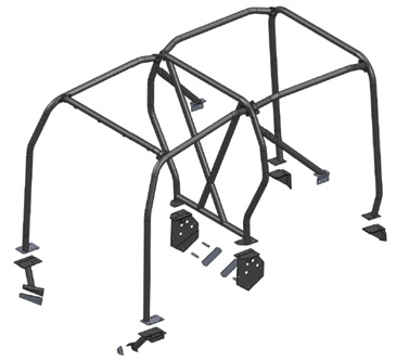 Safety Devices Defender 90 External / Internal Roll Cage