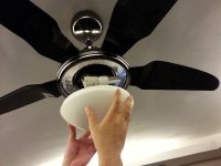 How to Install a Ceiling Fan with Light | devonbuy.com