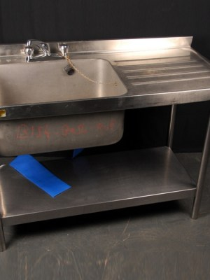 WASHING UP SINK - SINGLE