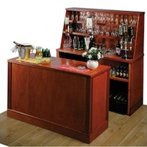 Wooden Bar Hire