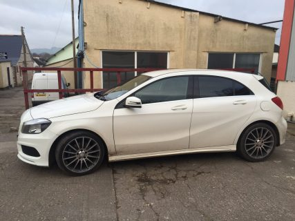 Mercedes A45 Window Tint