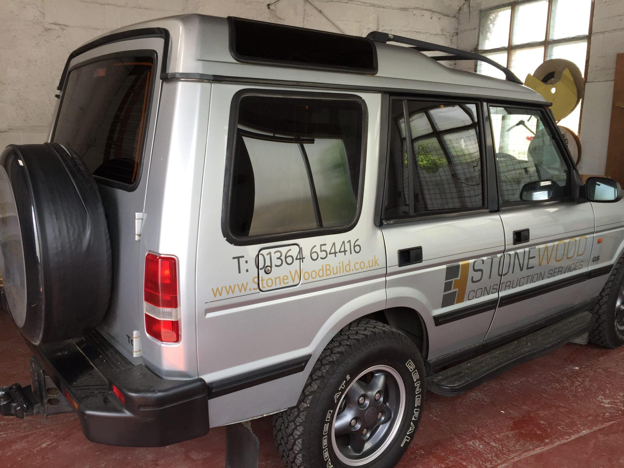 Land Rover Disco Window Tint