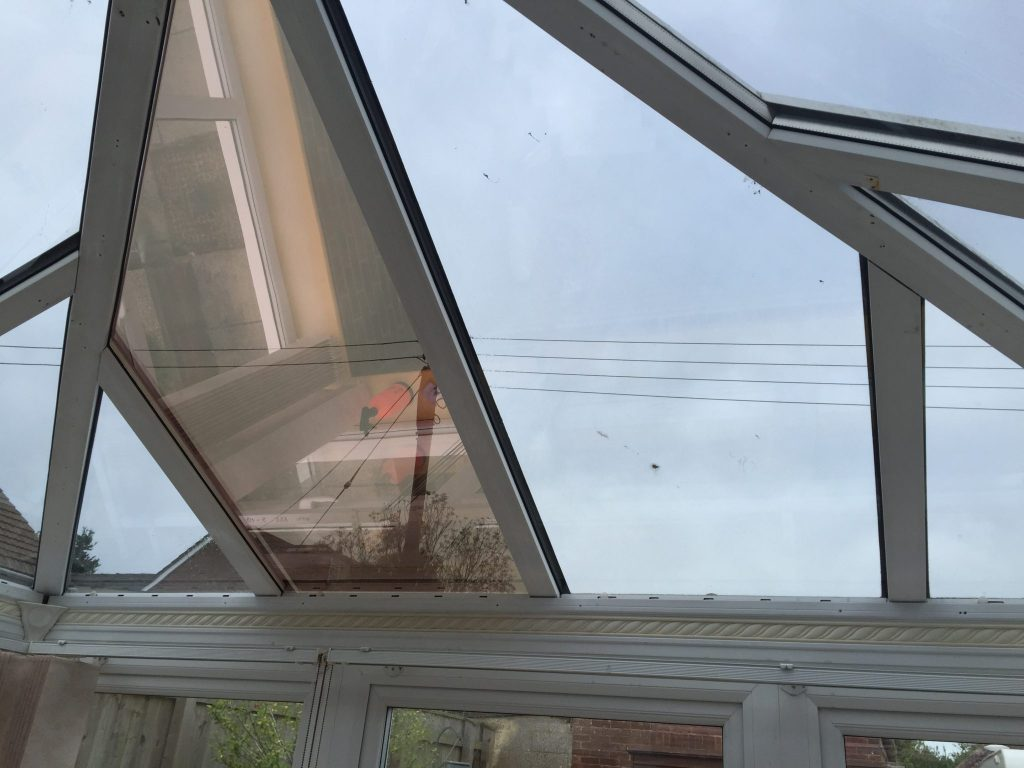 Conservatory Roof Bronze Window Film for Heat and Glare