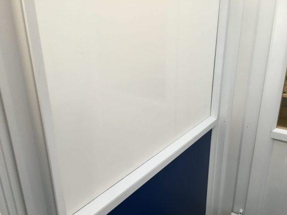 Solar Gard White Opaque Blue Cross Rehoming Centre