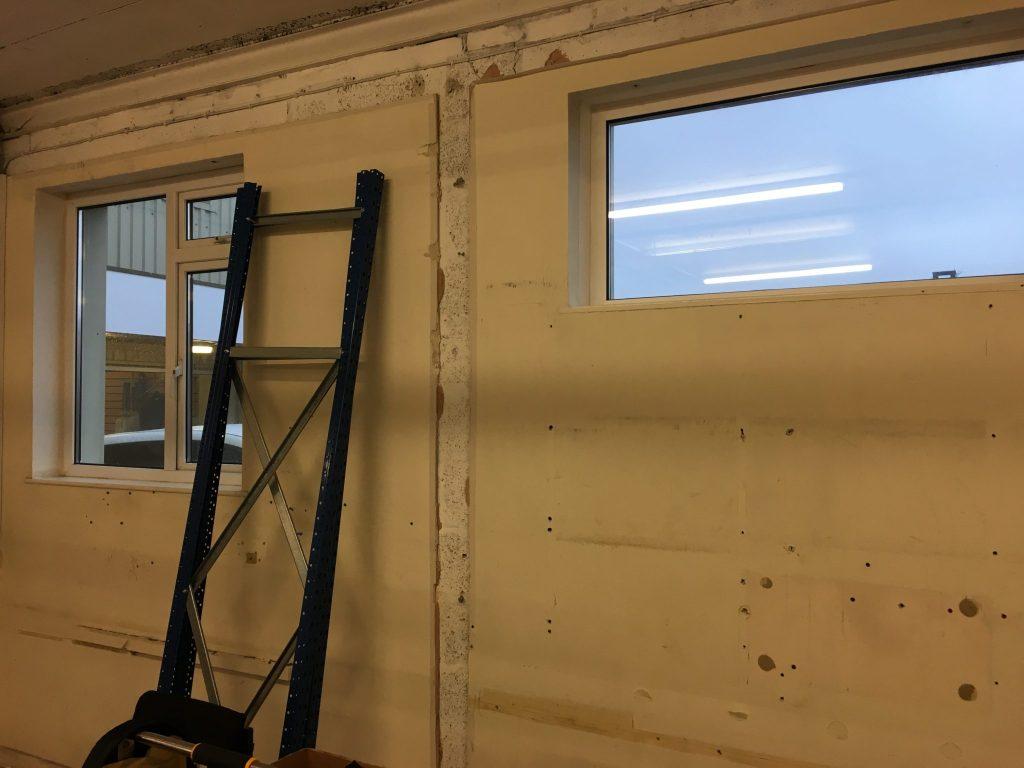 White Matte Obscure Window Film